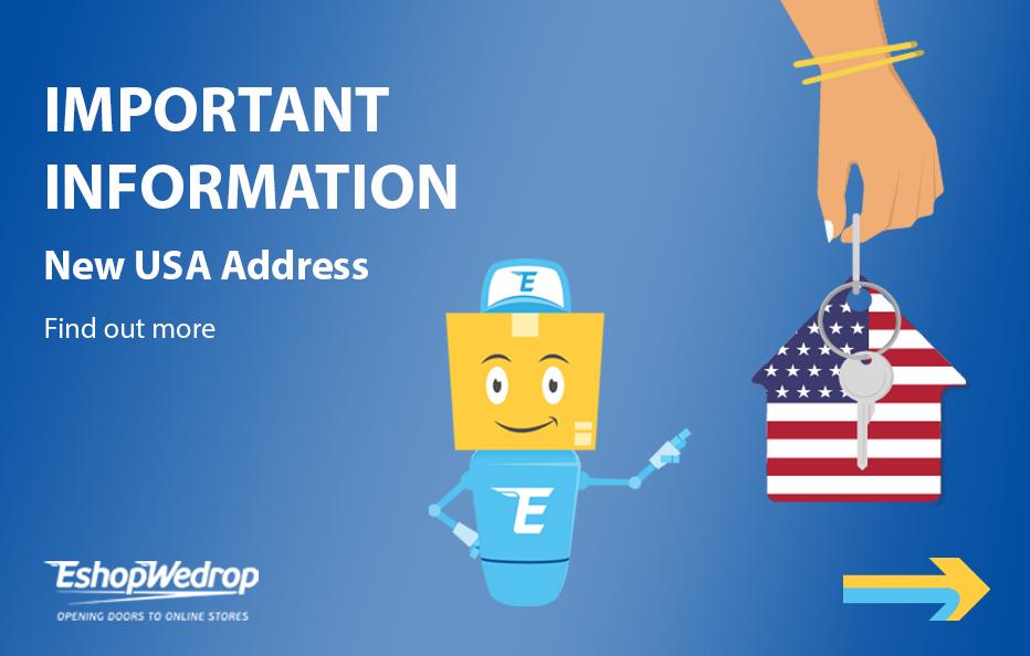 New USA Address
