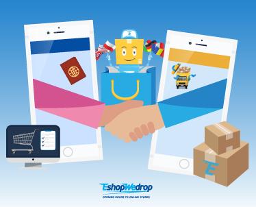 Ετοιμάσου για online αγορές με το EshopWedrop